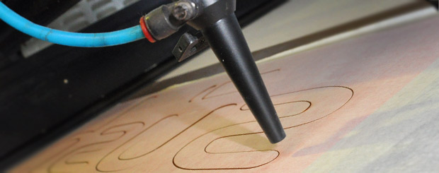 Laser Cutting for Precision Corporate Signs, New Zealand